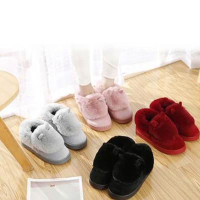 情侣冬季包跟棉鞋